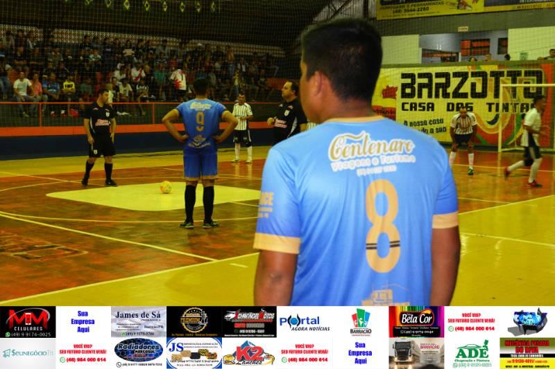 Confira em clicks a rodada desta terça feira (12) do Interbairros de Futsal de Barracão/PR