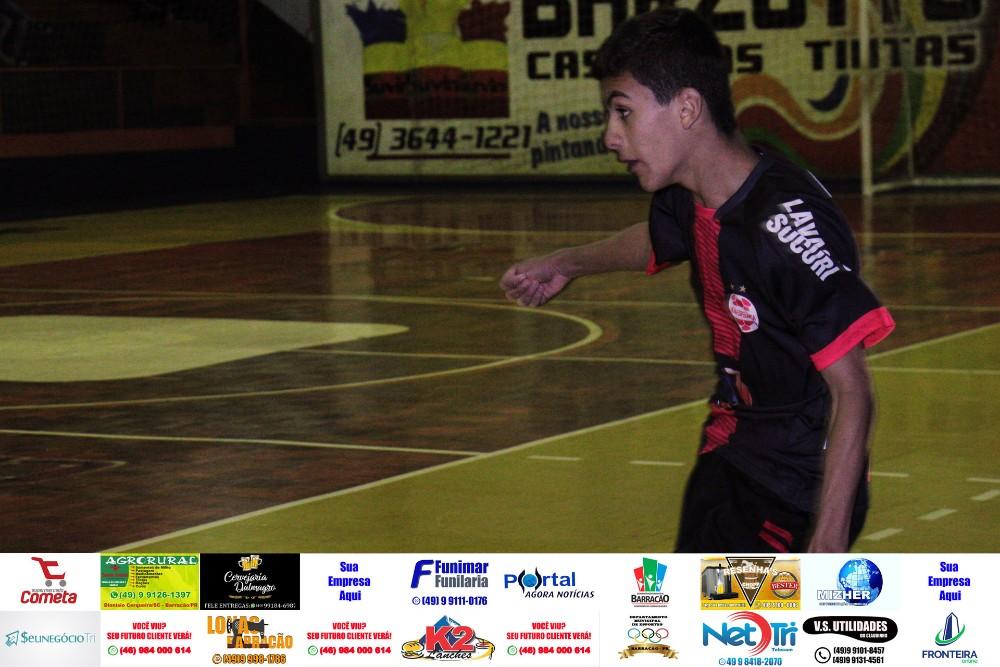 Fotos da rodada de ontem (21) do Interbairros de Futsal de Barracão/PR