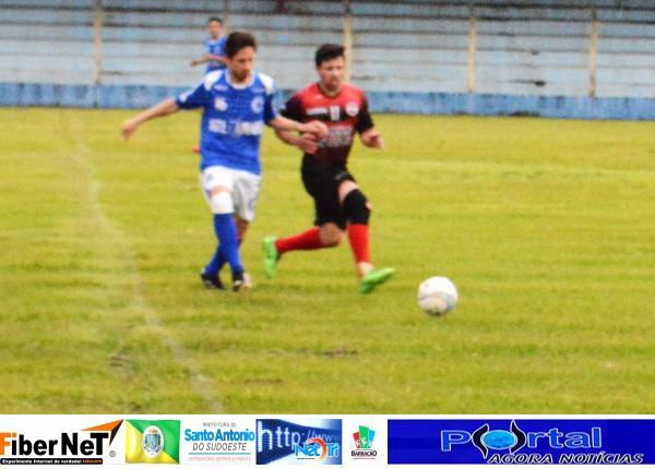 Fotos do jogo de ida entre União Marcianópolis e Cruzeiro São Roque pela Copa dos Campeões