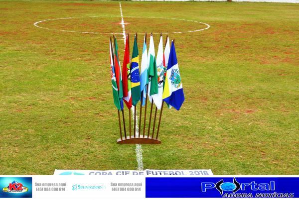 Fotos de Gauchito Gil X Nossa Senhora de Fátima e Sintético Facundo x Cruzeiro São Roque pela Copa CIF