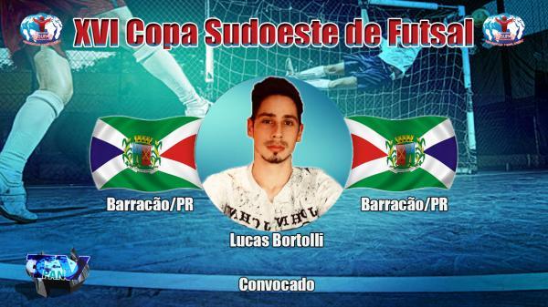Confira os convocados para representar Barracão na Copa Sudoeste de Futsal