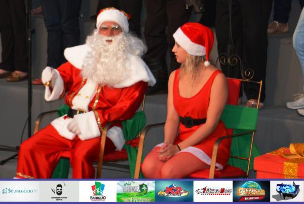Confira as fotos da abertura oficial do natal em Barracão