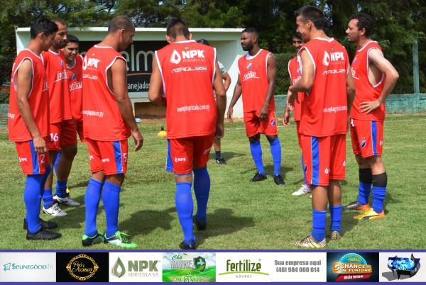 Confira fotos do pré jogo entre Ampére E. C. x El Nacional ASSIF pelo Regional de Futebol Amador