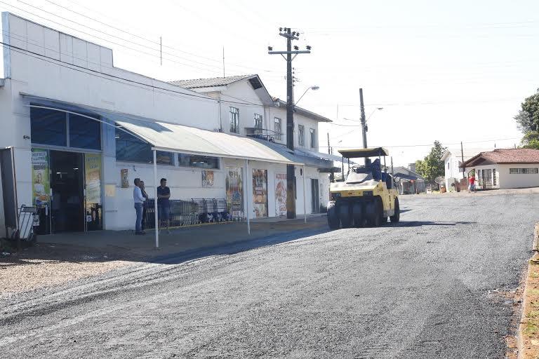 Dionísio Cerqueira - Prefeitura inicia terceira etapa do  programa de asfaltamento
