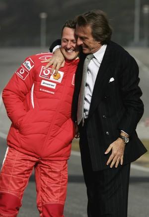 Ex-presidente da Ferrari afirma que notícias sobre Schumi