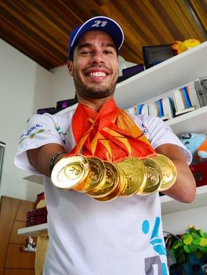 Brasil terá número recorde de nadadores nas Paralimpíadas Rio 2016
