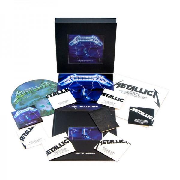 Metallica acerta ao lançar caixas luxuosas dos primeiros álbuns