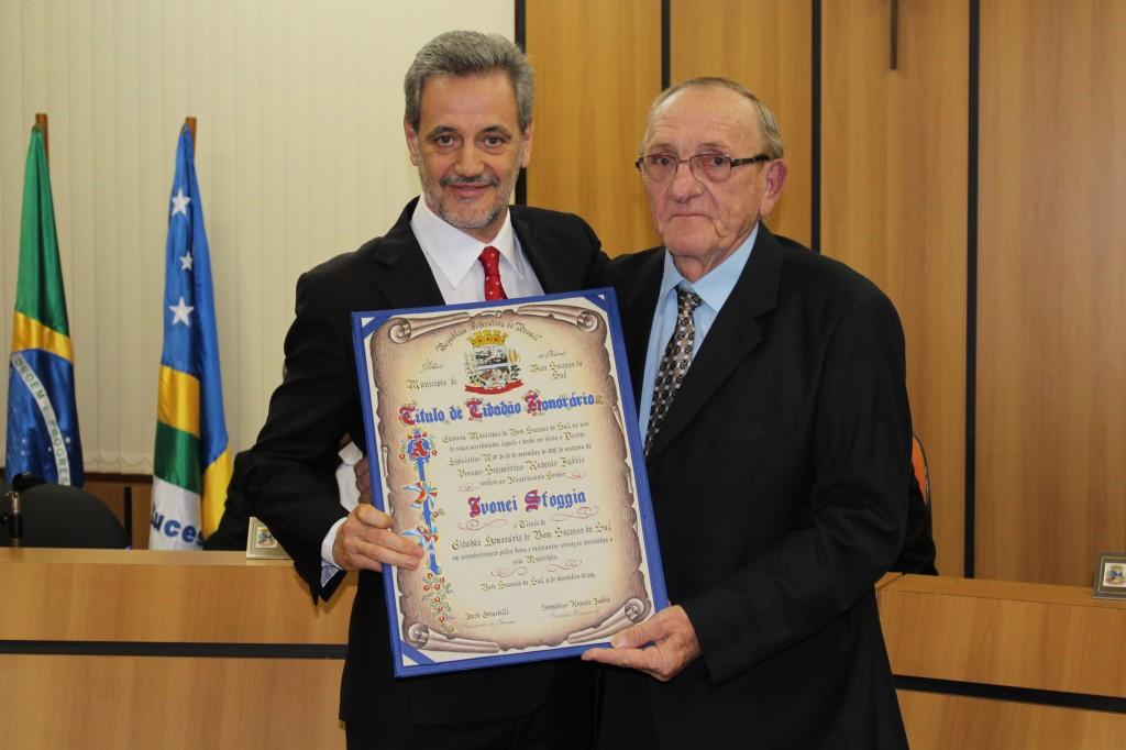 Câmara de Bom Sucesso do Sul homenageia Procurador de Justiça do Paraná