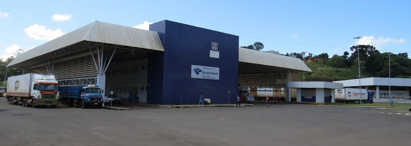 Volume de cargas cresce 35% na Aduana de Dionísio Cerqueira