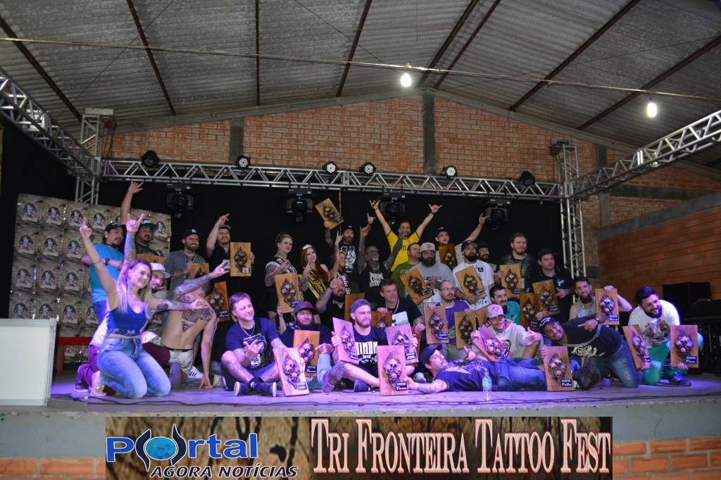 DC/Bcão -  Confira as fotos do segundo e terceiro dia do I Tri Fronteira Tatoo Fest Internacional