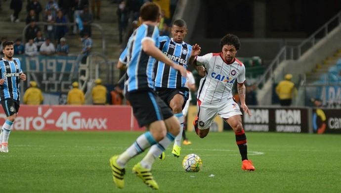 Alterado, Atlético-PR volta à Arena do Grêmio por nova vitória e lugar no G-6