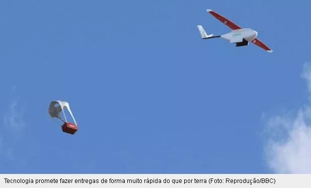 Ruanda testa drones para envio de sangue, plasma e coagulantes a hospitais remotos