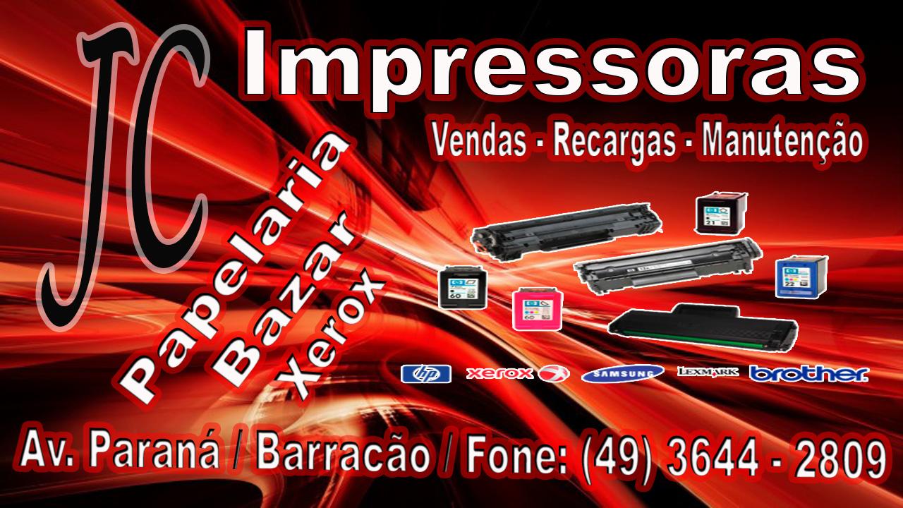 Barracão – JC Impressoras está em novo endereço e com cara nova
