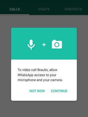 WhatsApp ganha chamadas em vídeo no Android