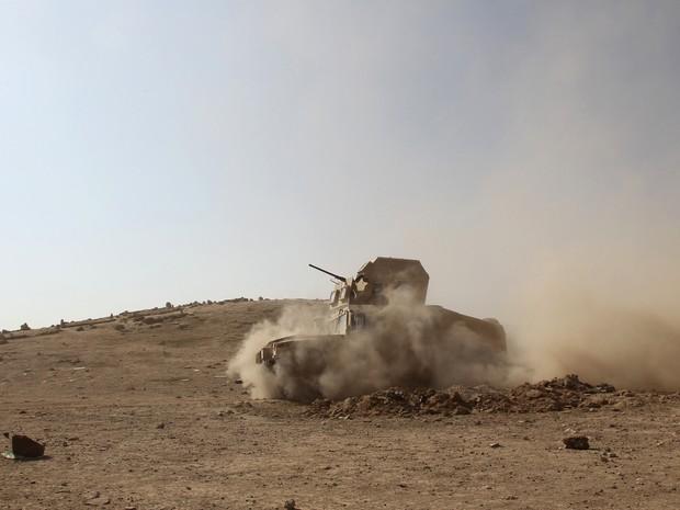 Tropas iraquianas estão a centenas de metros de Mossul