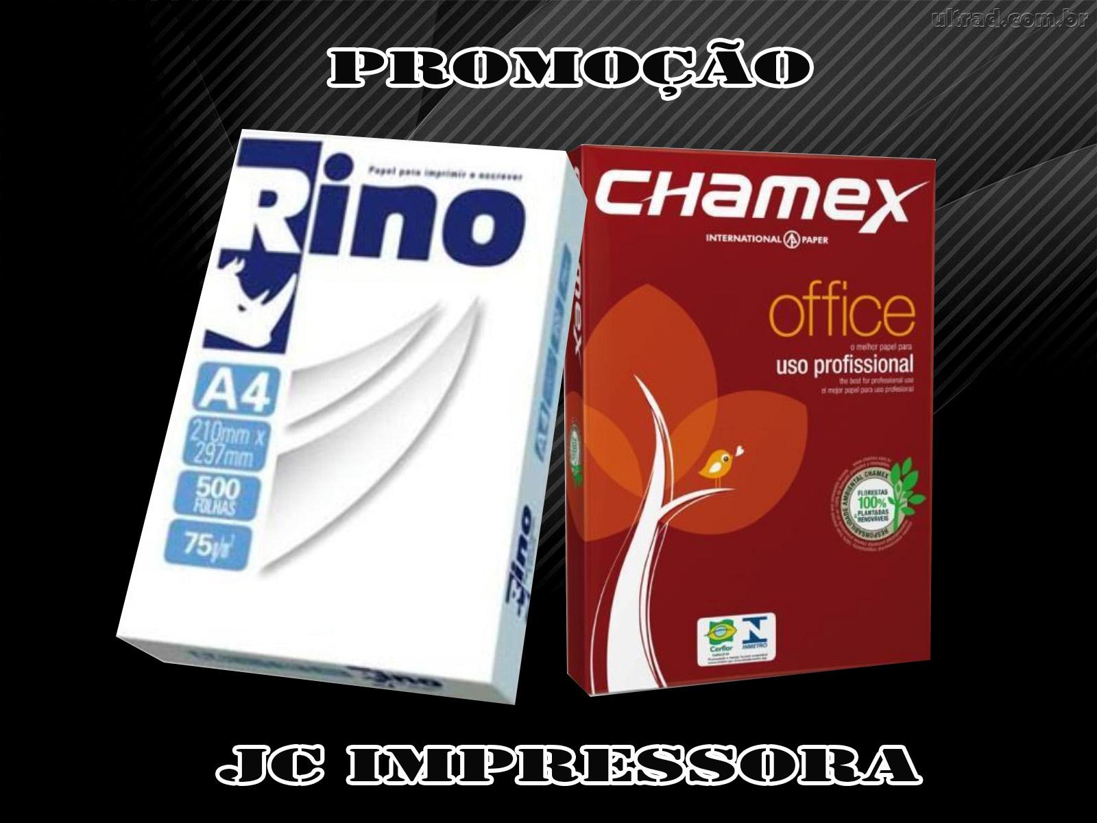 Barracão – Imprimir ficou mais econômico, a JC Impressoras está com uma grande promoção de papel A4