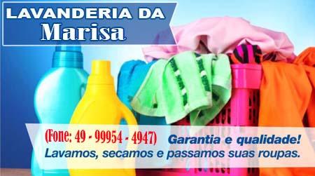 Dionísio Cerqueira - Lavanderia Marisa Garantia e Qualidade
