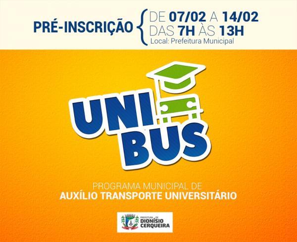 Dionísio Cerqueira – Saindo do papel; Projeto UniBus começa ser posto em prática