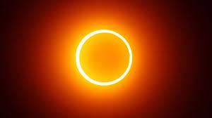 Eclipse solar com 'anel de fogo' será visível no domingo