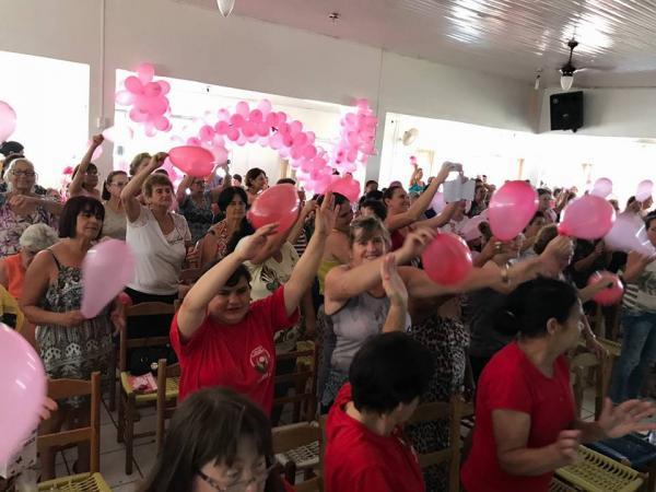 Barracão – Departamento de Promoção Social realiza ato comemorativo ao dia da mulher
