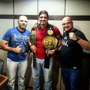 Barracão é destaque no Combate Guaíba através do Top 10 do mundo no MMA peso pesado