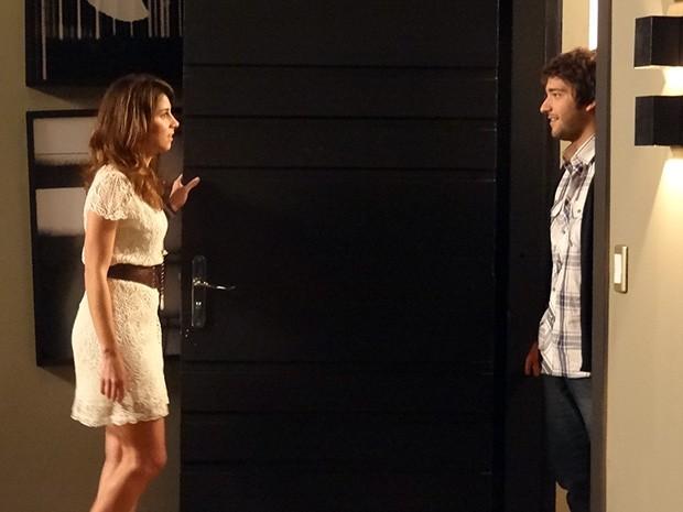 Davi se declara para Manu e os dois ficam juntos: 'Você é o amor da minha vida'