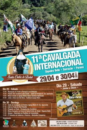 11ª Cavalgada Internacional de Santa Emília de Rodat
