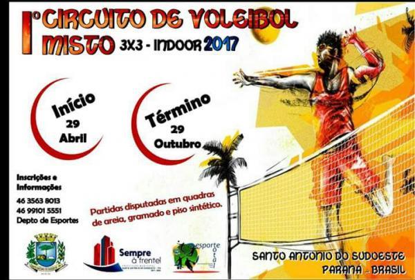 Iº Circuito de Voleibol Misto