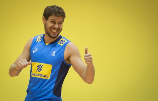 Brasil ficou satisfeito com o segundo lugar na primeira fase da Liga Mundial de vôlei Masculino