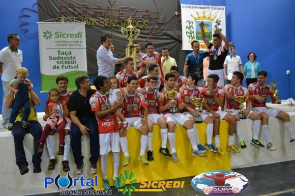 Começa no próximo dia 17 a Copa Sudoeste de Futsal com uma equipe a mais que edição anterior