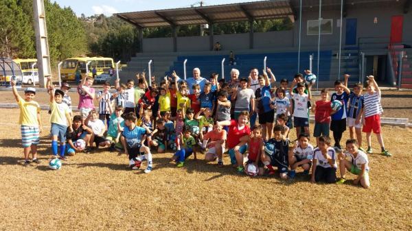Barracão – Município da ponta pé inicial ao Projeto Esporte na Escola