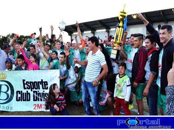 Dionísio Cerqueira – Divisor goleia o RED e é bicampeão do Cerqueirense de Futebol