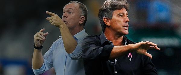 Grêmio x Cruzeiro por uma vaga na semi-final