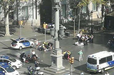Orações por Barcelona antes do ataque