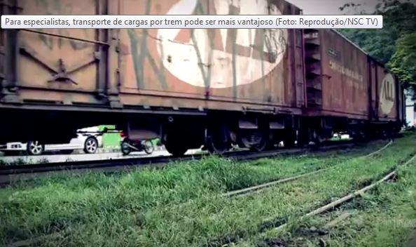 Progresso em Santa Catarina – estrada de ferro ainda sem prazo para começar