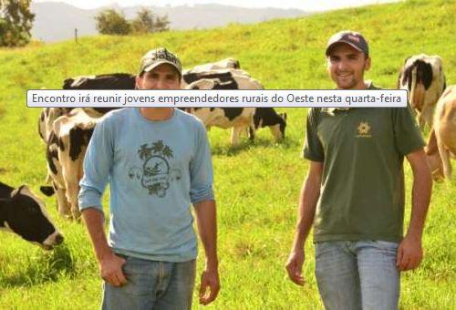 Jovens empreendedores rurais irão se reunir nesta quarta-feira em Maravilha SC