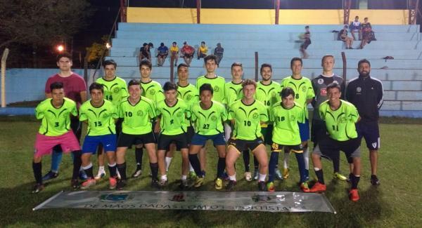 Sub-17 de Santo Antônio do Sudoeste ficou no empate com Boca Jr. Barracão
