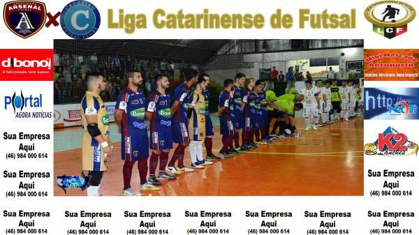 Liga Catarinense - Arsenal recebe o Cruzeiro Futsal e pode assumir a liderança
