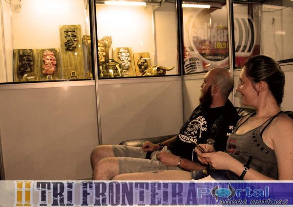 Tri Fronteira Tattoo Fest – Primeiro dia de evento foi de muita tatuagem e rock and Roll