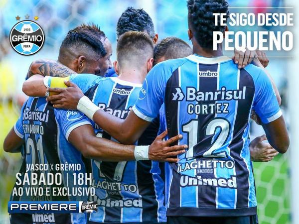 Tricolor Gaúcho enfrenta Vasco as 18:00 no Rio