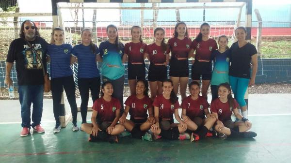 Santo Antônio do Sudoeste conquista título de Handebol do JIMSOPS