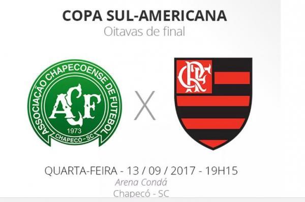 Sul-Americana Chapecoense x Flamengo