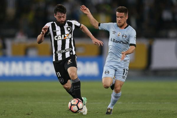 Grêmio neutraliza arma do Botafogo