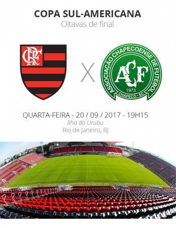 Sul-Americana: tudo o que você precisa saber de Flamengo x Chapecoense