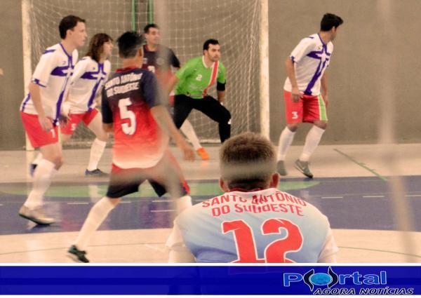 Santo Antônio do Sudoeste x Verê pea Copa Sudoeste de Futsal