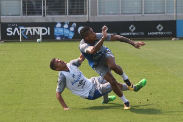 Cristian, Arroyo e Patrick são atrações em time reserva do Grêmio contra o Bahia