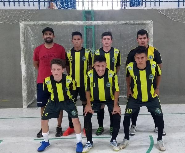 Santo Antônio vence Planalto na Copa Fronteira de Futsal