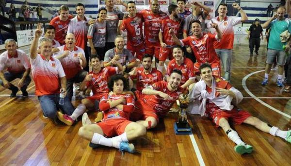 Liga Catarinense – AGN Capinzal é Campeã do Returno após vencer ADC Curitibanos na prorrogação
