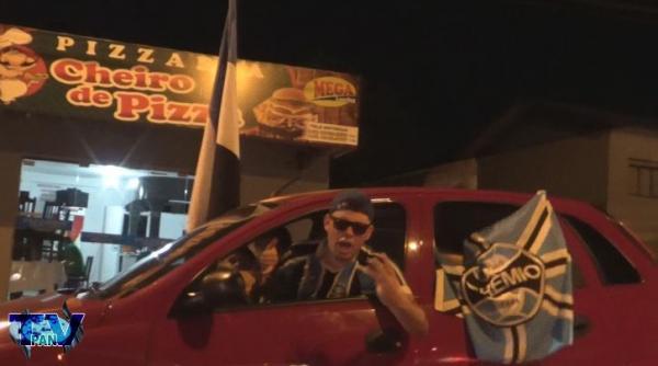 DC/Bcão – Gremistas tomam as ruas da tri-fronteira em êxtase pela conquista do tri da América