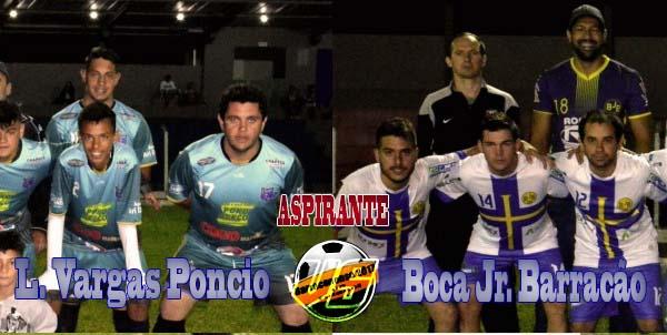 Barraconense – Boca Jr. e Vargas definem vaga para final na tarde de hoje (02) no Aspirante